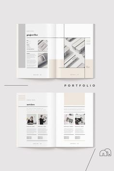 A complete portfolio template document created by an experienced designer with all the sections you need to impress future clients. Designed with the creative industries in mind but all elements can be changed to suit your chosen industry. Portfolio Design Layouts, Portfolio D'architecture, Mise En Page Portfolio, Architecture Portfolio Template, Design Portfolios, Graphic Portfolio, Interior Architecture, Mises En Page Design Graphique, Graphisches Design
