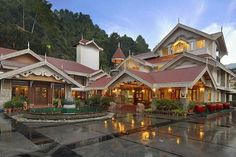 #MAYFAIRSpaResort & Casino, located at Sikkim's capital of #Gangtok is set in the magical environment of plush #Himalayan forest and colossal #mountains which enhance the skyline of this #resort designed in Sikkim's Monastic theme as well as impressive Colonial #architecture. #travel #tour #fun