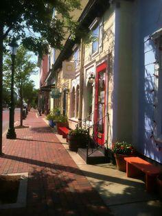 Washington Street Mall, Cape May NJ