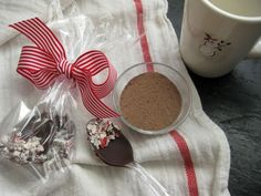Hot chocolate spoons - gifts for Christmas