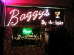 OOOH Baggy's.  Just about the BEST dive bar in Oakland. EVERY single holiday they change the amazing decorations and serve a full array of food!  It's an amazing community of diverse people, and just a downright fun place to hang out.
