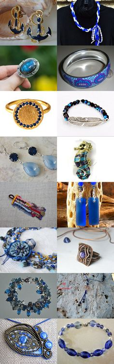 11/16  Anchors Away: August Jewelry Trends by Pauline McEwen on Etsy--Pinned+with+TreasuryPin.com