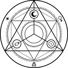 Our final design. Like the one seen in Fullmetal Alchemist, this transmutation… Esoteric Symbols, 鋼の錬金術師 Fullmetal Alchemist, Magic Symbols, Magic Circle, Pentacle, Book Of Shadows, Sacred Geometry, Magick, Witchcraft
