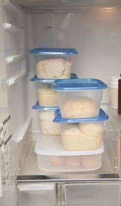 手作りパン 夜、冷蔵庫発酵で翌朝焼くだけ! オーバーナイト パン 発酵 手作り 冷蔵庫 簡単 捏ねない