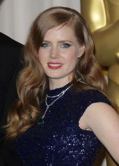 Amy Adams stunning, long hairstyle