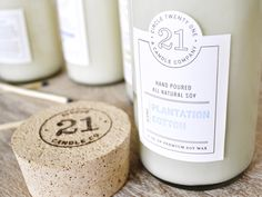 Circle 21 Candles - Designed by Nudge | Country: United States #package #branding