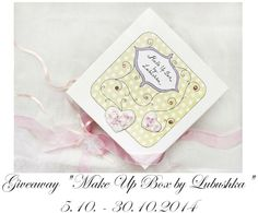 "Lovely ♡ Lyu: Giveaway "" Make Up Box by Lubushka"" 5.10. - 30.10...."