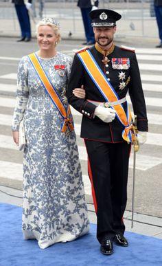 Crown Princess Mette-Marit of Norway, April 30, 2013    | The Royal Hats Blog