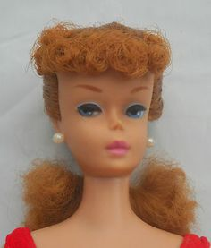 Vintage Barbie Doll Titian Ponytail #6