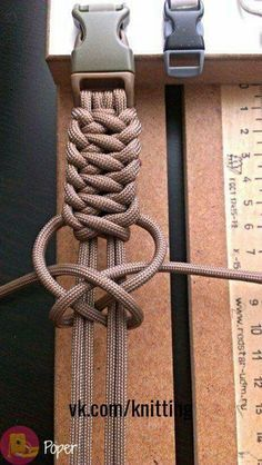 [orginial_title] – Popular DIY paracord home decor ideas for any room Decorative knots; would use s… Popular DIY paracord home decor ideas for any room Decorative knots; would use something other than paracord Paracord Knots, Rope Knots, Macrame Knots, Paracord Bracelets, Paracord Braids, Diy Paracord Bracelet, Men Bracelets, Crochet Bracelet, How To Braid Paracord