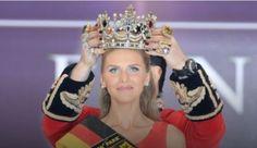 """У конкурсі краси """"Міс Німеччина-2015"""" перемогла 23-річна українка Ольга Гоффманн"""
