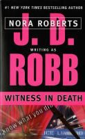 Witness in death / J.D. Robb.