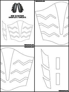 New 52 Batman Gauntlets Build Tutorial – The Foam Cave