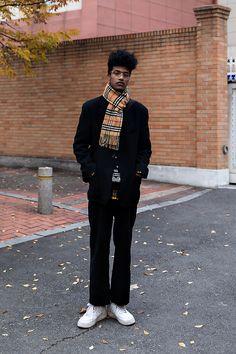 Han Hyunmin, Street style men winter 2017 inseoul