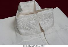 Mannsskjorte Hardanger Embroidery, Old And New, Needlework, White Shorts, Costumes, Model, How To Make, Folklore, Norway
