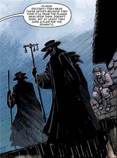 Plague Doctor, steampunk, drawing, art,