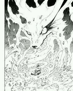 Kyubi aka Kurama #naruto