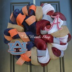 (http://www.thewreathshop.com/products/house-divided-auburn-and-alabama-wreath.html) could make my own with ms state