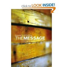"""Read """"The Message//REMIX The Bible in Contemporary Language"""" by available from Rakuten Kobo. Open up the REMIX and find them for yourself. The Message//REMIX presents the Bible in stirring c. Best Study Bible, Good Books, My Books, Message Bible, Bible Translations, Deep Truths, Thing 1, Love Reading, Reading Time"""
