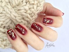 essie- bordeaux, Milani Jewel FX Gold gems