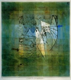 Paul Klee - Mountain Formation, 1924