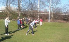 Track & field course