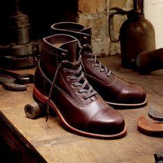 1000 miles boots   Men's Rockford 1000 Mile Cap-Toe Boot - W05293 - Vintage Boots