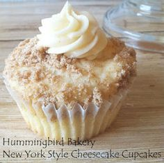 My Favorite Things: Hummingbird Bakery New York Style Cheesecake Cupcakes