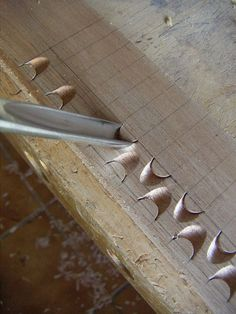 Exercises wood carving for beginners: