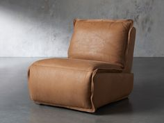 Rowland Leather Recliner | Arhaus