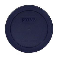 Pyrex Blue 3 Cup Round Storage Cover  number7401-PC for Glass Bowls 2-Pack by Pyrex > Wow! I love this. Check it out now! : Baking mixing bowls