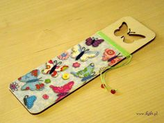 IfGift...: decoupage bookmark made by me