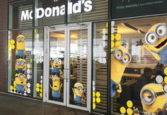 McDonalds Minions- In store (2/3)