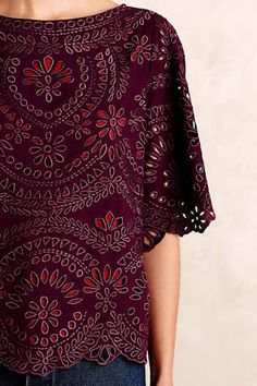 The details are gorgeous - love the print that matches the cut out design, the color is beautiful and the sleeve length is unique!