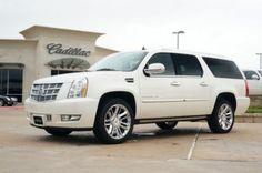 2013 Cadillac Escalade ESV RWD platinum  - 2011 version manifested 12/30/2014!!!!!