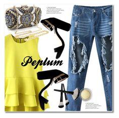 Peplum by svijetlana on Polyvore featuring polyvore fashion style Christian Dior clothing Peplum zaful