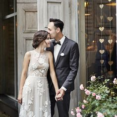 Wedding Photography  Wonderfull floral wedding dress.  Anna Kara Cracow Poland