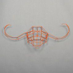 Water Buffalo Trophy Head Orange, $128, now featured on Fab.