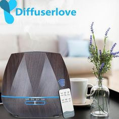 Imported From Abroad Portable Diffuser Electric Cool Mist Fog Aromatherapy Humidifier Office Home Car Night Lamp Diffuser Creative Atmosphere Lights Evident Effect Led Lamps