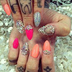 Jeffery Stars' Nails | Nails by: Laque' Nail Bar