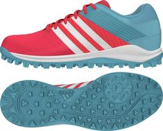 Adidas SRS 4 W Shock Red Hockey Shoes 2016