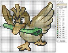 Farfetch'd - Pokemon pattern by birdiestitching