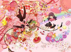 Cardcaptor Sakura   CLAMP   Madhouse / Kinomoto Sakura, Keroberos (Kero-chan), Daidouji Tomoyo, Li Shaoran, Li Meilin, and the Sakura Cards / 「✧˖✧ CCS ✧˖✧」/「BoTTLe」のイラスト [pixiv]