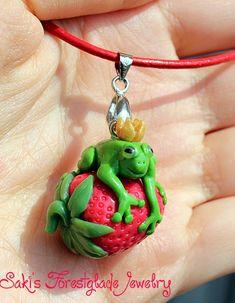 The Frog King loves Strawberries by Sakiyo-chan.deviantart.com on @deviantART