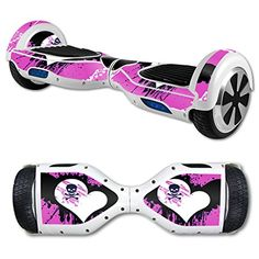 MightySkins Protective Vinyl Skin Decal for Hover Board Self Balancing Scooter mini 2 wheel x1 razor wrap cover sticker Poison Heart >>> You can get more details by clicking on the image.