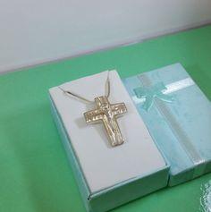 Anhänger Silber 925 Jesus Kreuz alt selten SK596 von Schmuckbaron