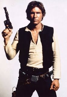 Han Solo.      Harrison Ford is cute too.