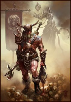 #Barbarian by #EmilianEnache | #Fantasy | #2D | #CGSociety
