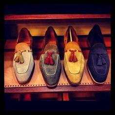 Carmina Greatness!!!!!! – The Shoe Snob Blog #tassel #loafers