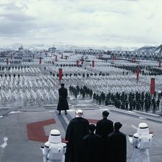 The First Order assembles. #TheForceAwakens